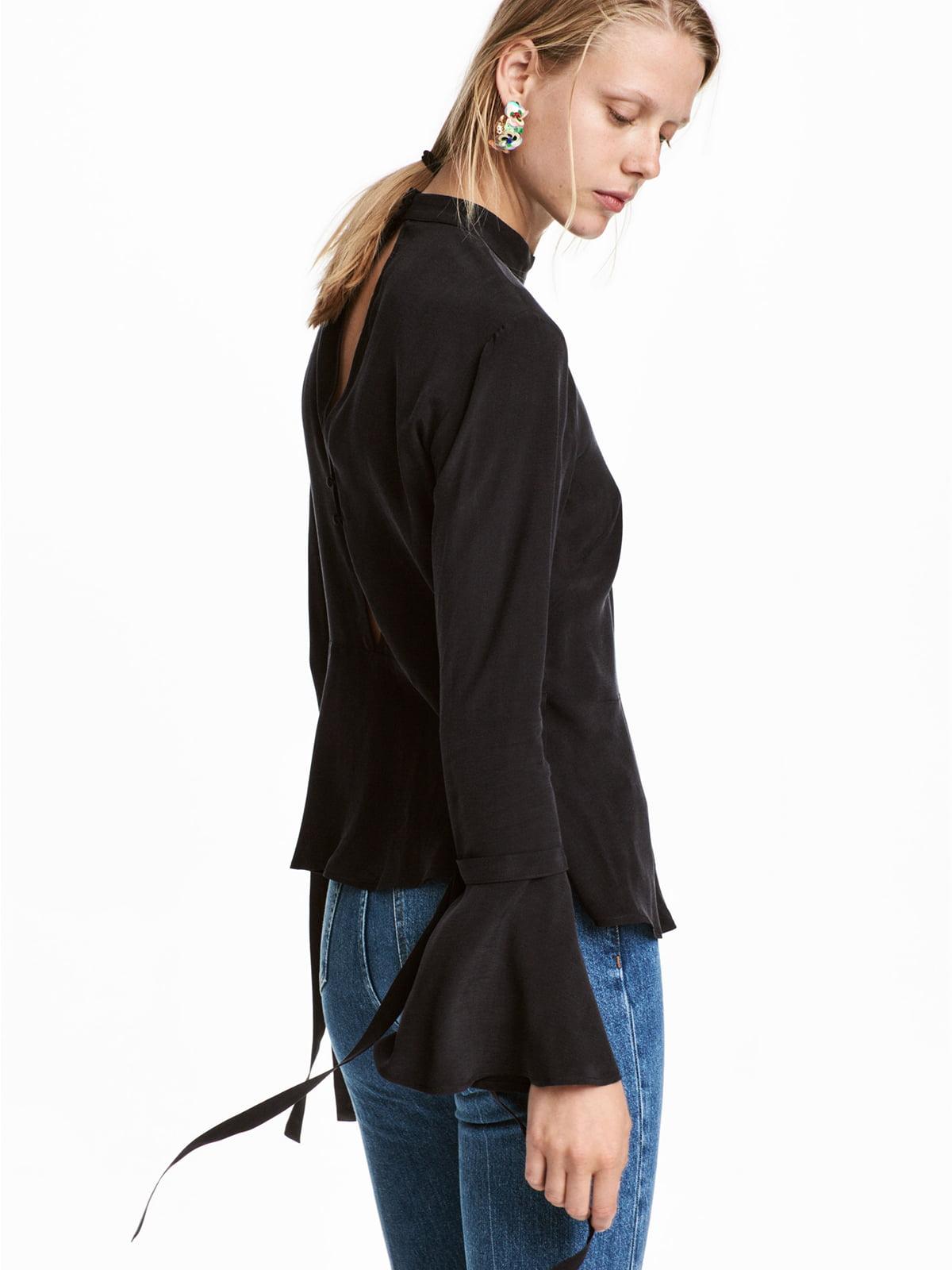 Блуза черная | 5245304
