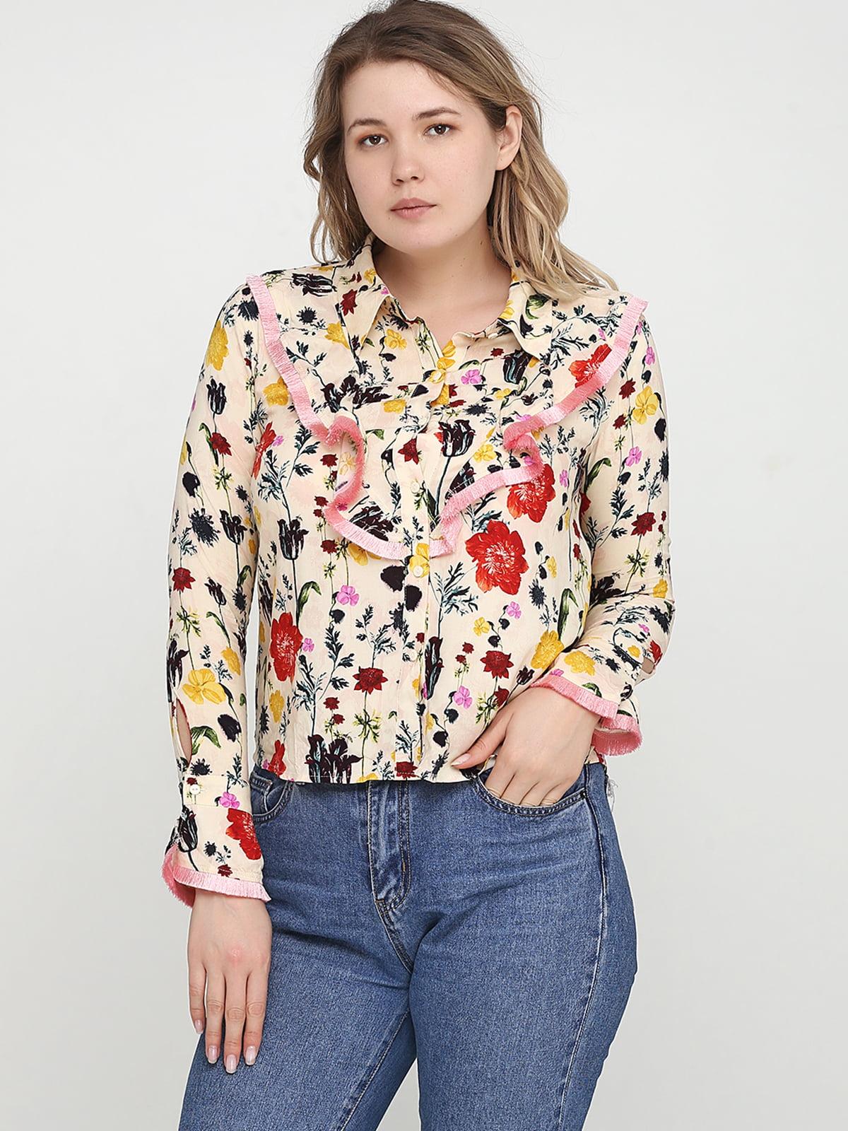 Блуза бежевая | 5245307