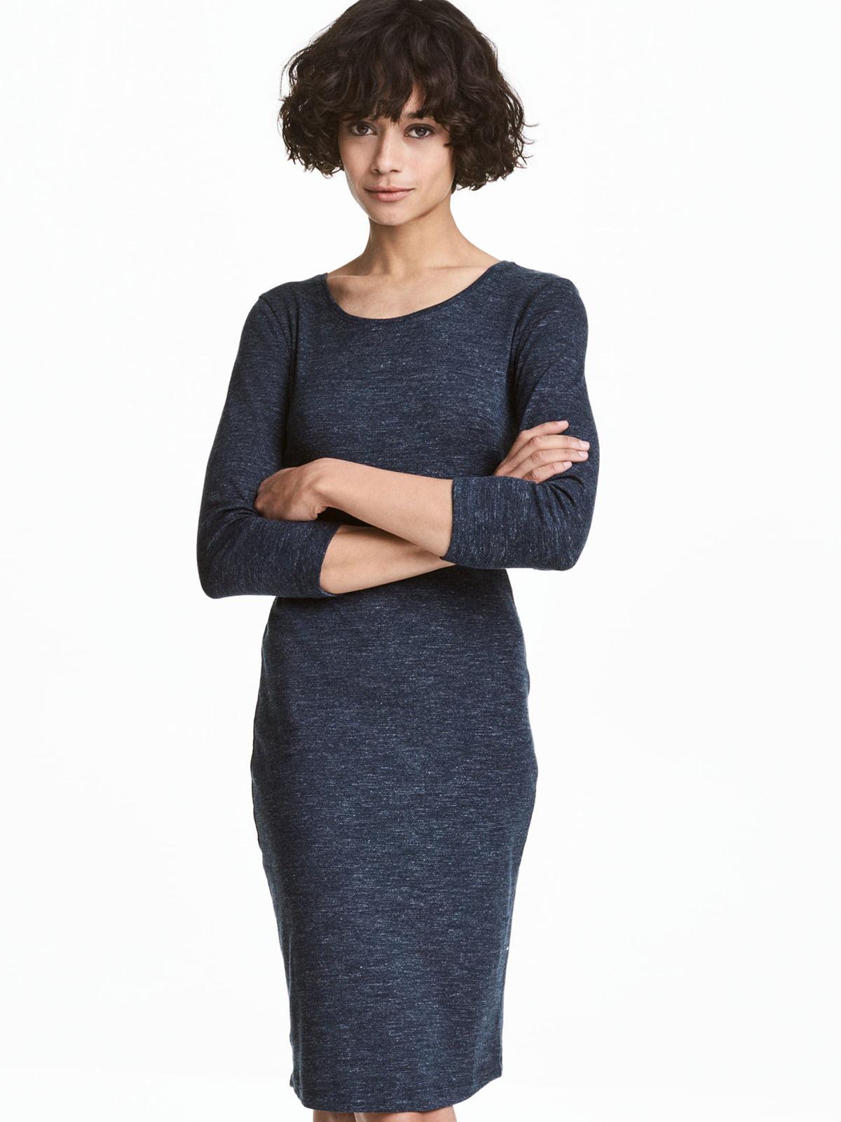 Платье синее | 5245329