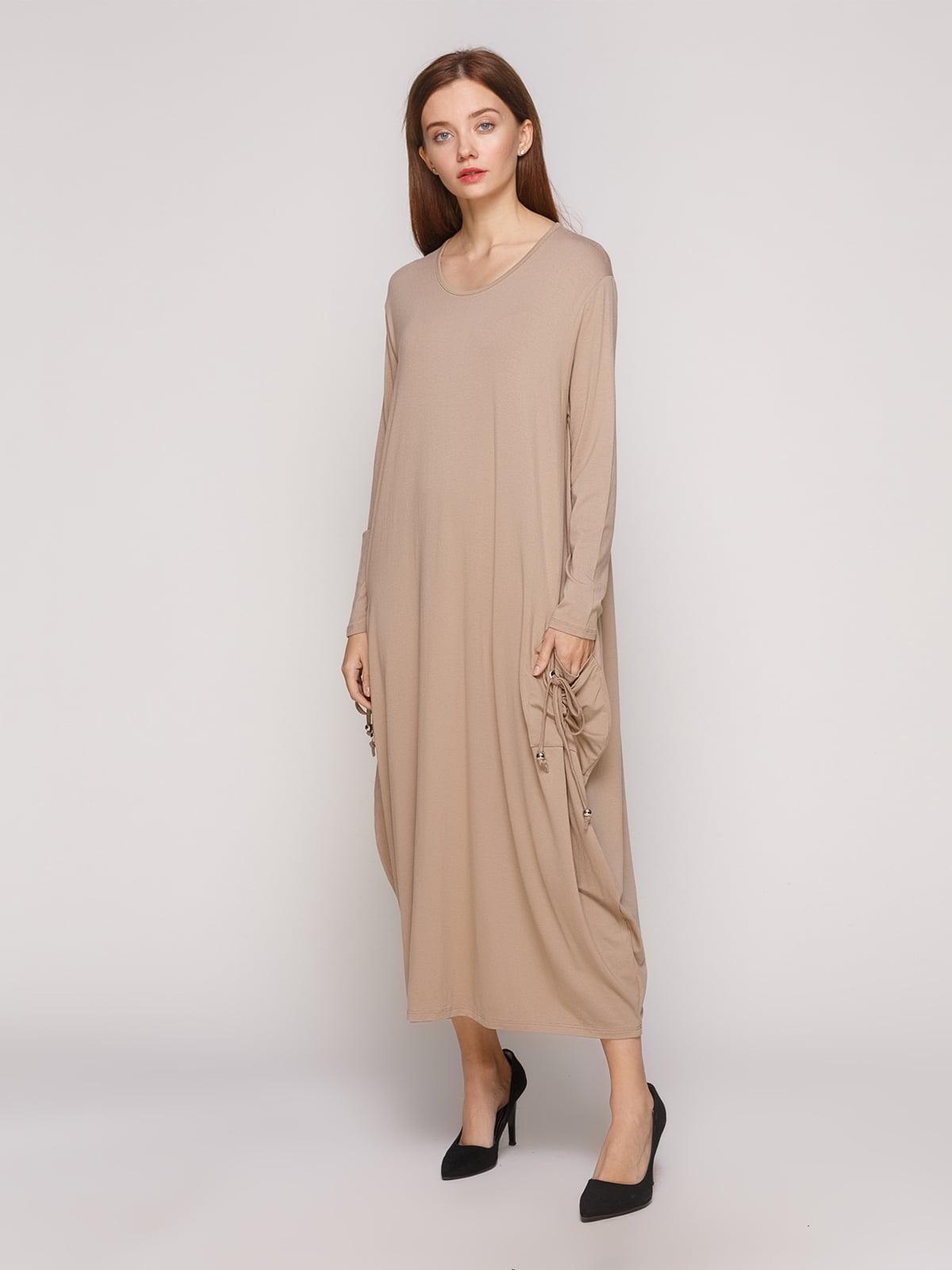 Сукня бежева | 5218689