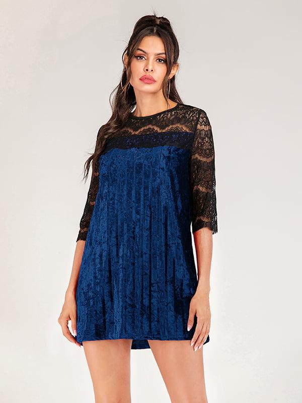 Платье двухцветное | 5250851