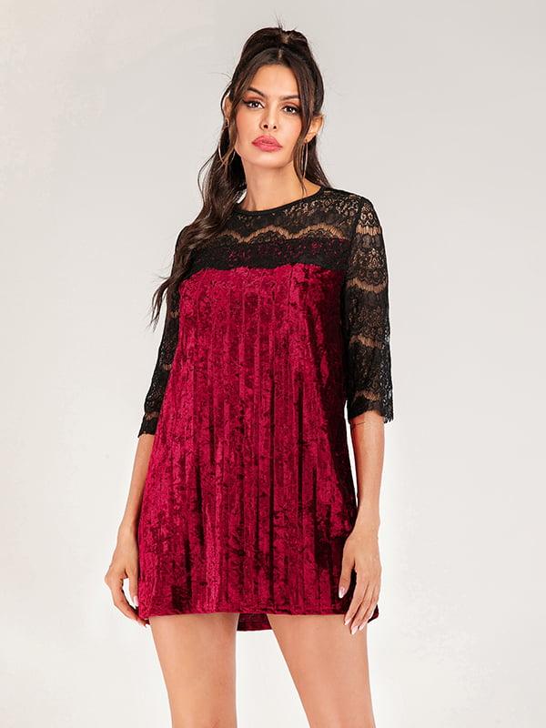 Платье двухцветное | 5250852