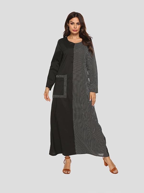 Платье двухцветное | 5250857