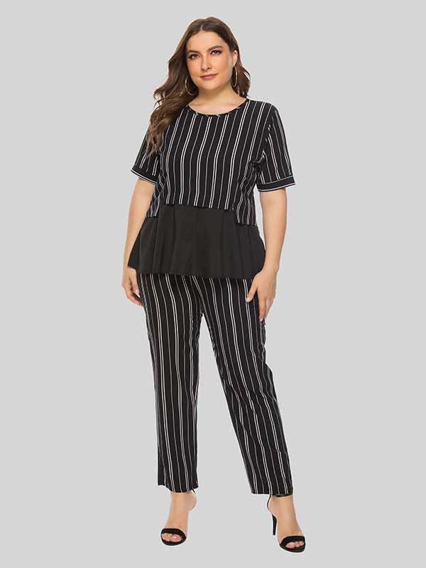 Комплект: блуза и брюки | 5250860