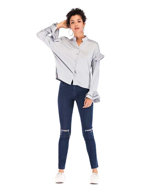 Рубашка серая   5250878