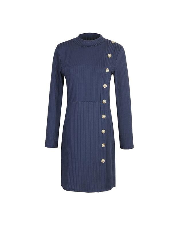 Платье темно-синее | 5250922