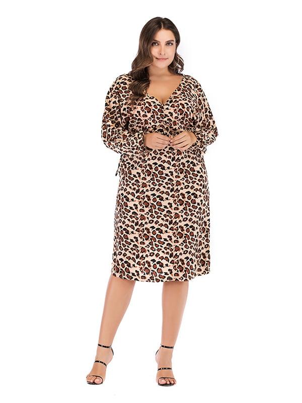 Платье коричневое | 5250937