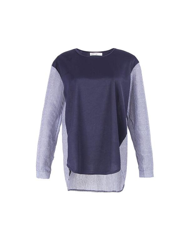 Блуза синяя   5250961