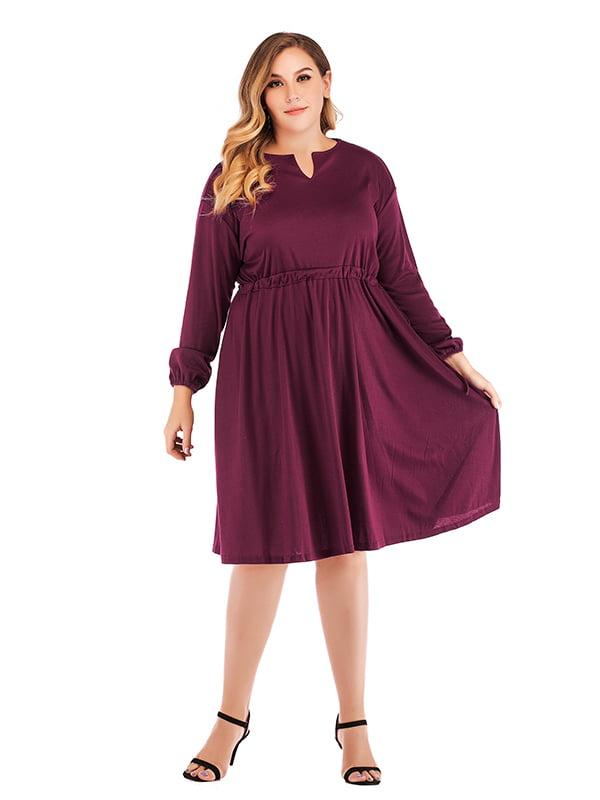 Платье фиолетовое   5250985