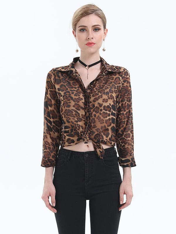 Рубашка анималистической расцветки   5251008