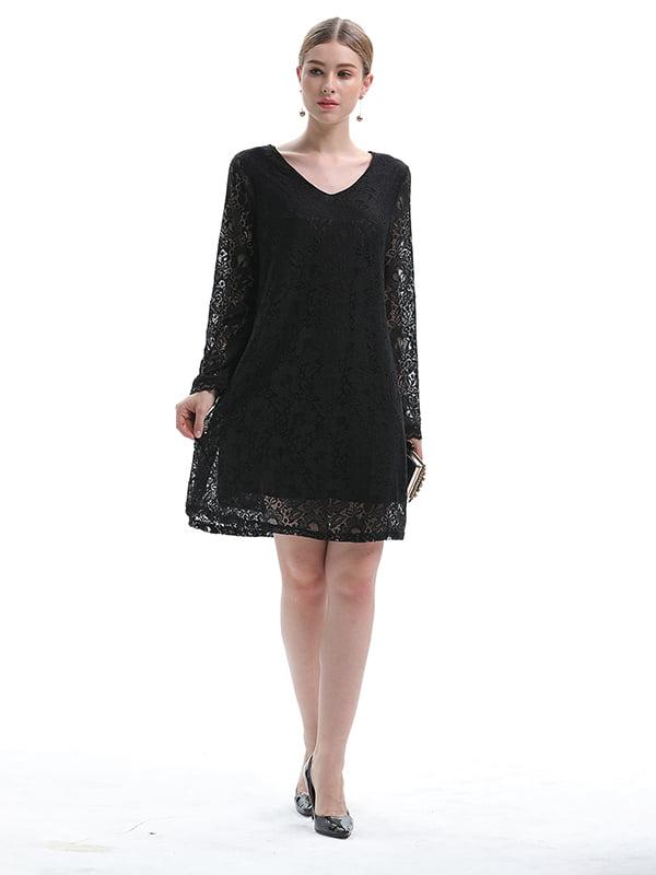 Платье черное | 5251020