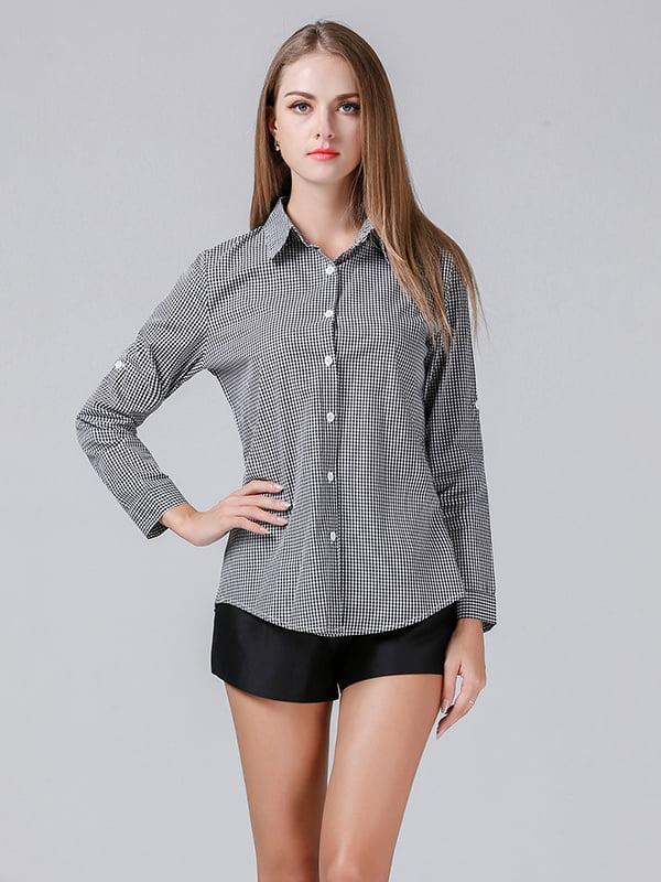 Рубашка черная | 5251022
