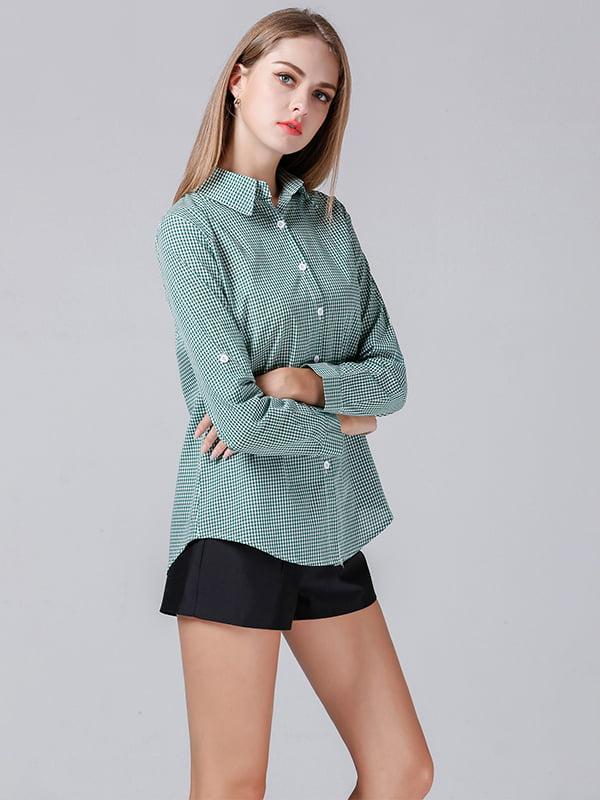 Рубашка  зеленая   5251023