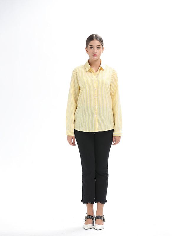 Рубашка желтая | 5251025