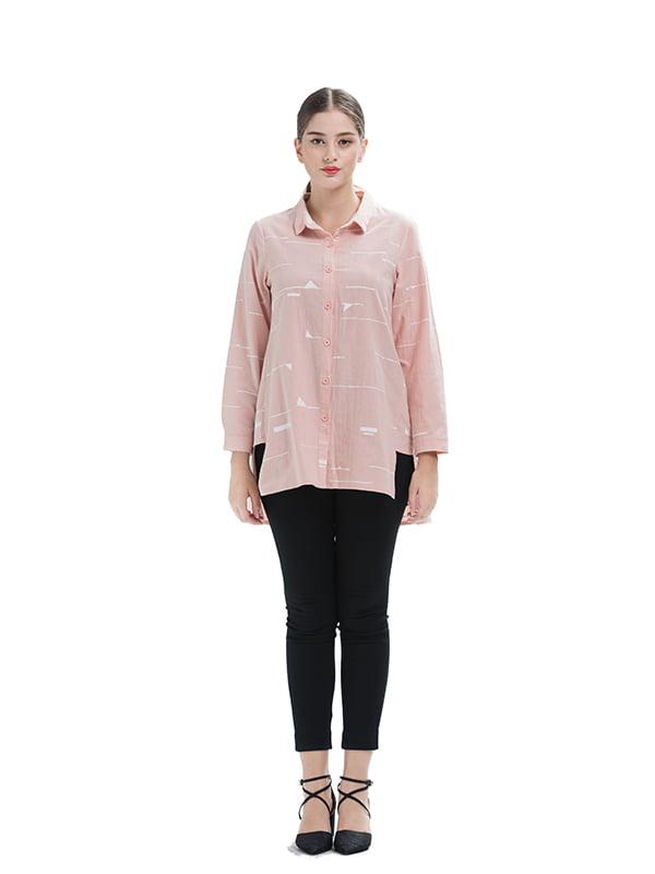 Рубашка розовая | 5251028