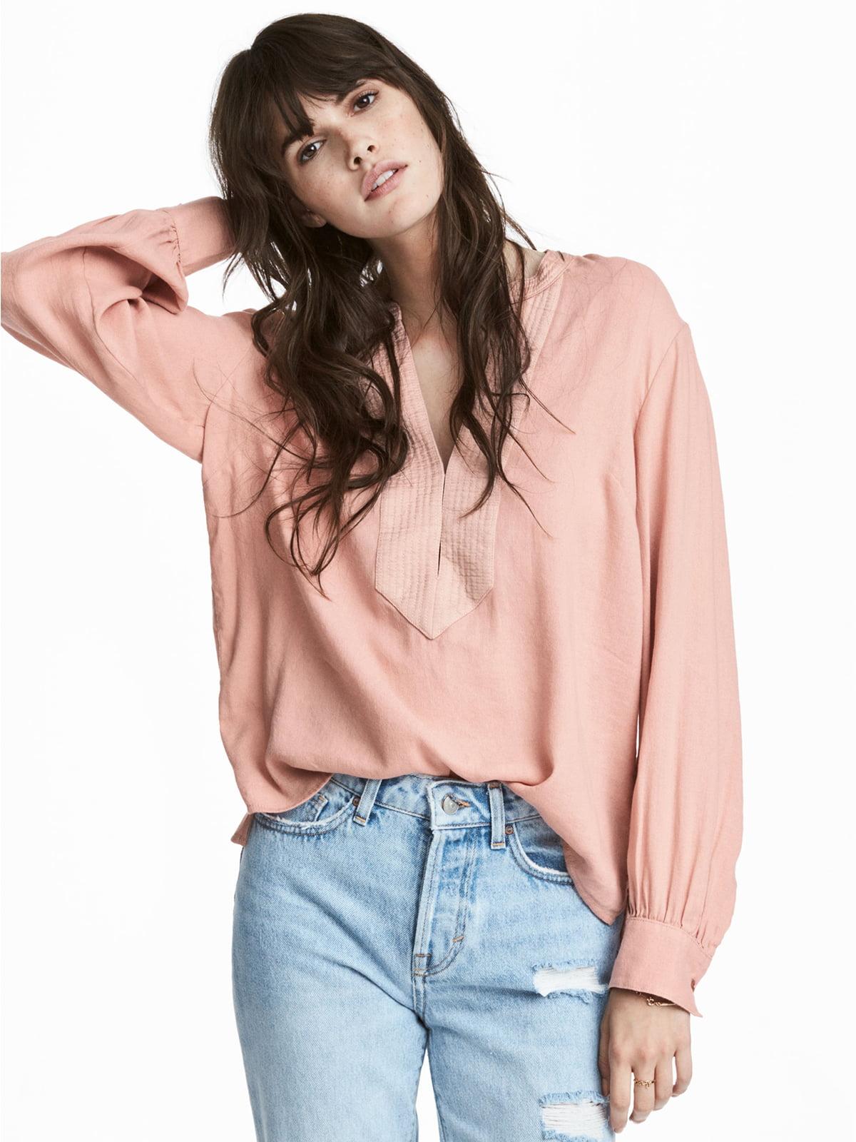 Блуза персикового цвета   5244806