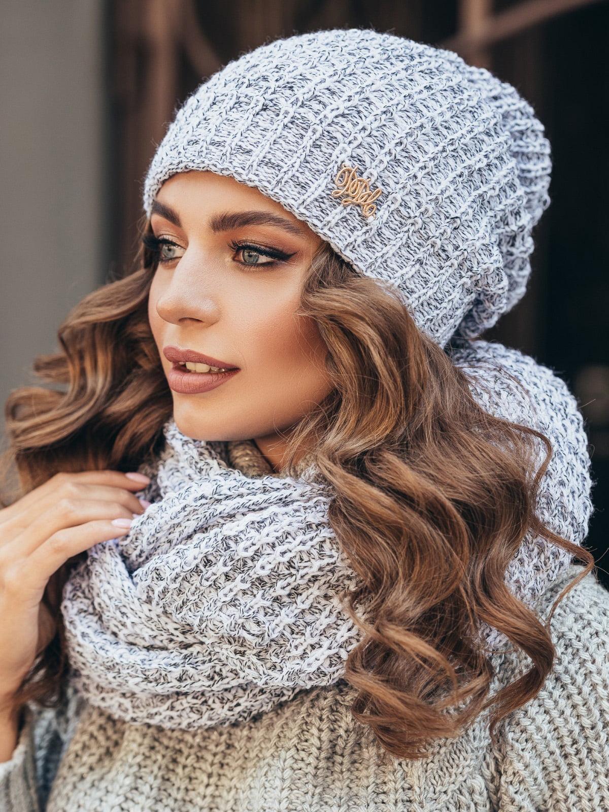 Комплект: шапка і шарф-снуд | 5251663