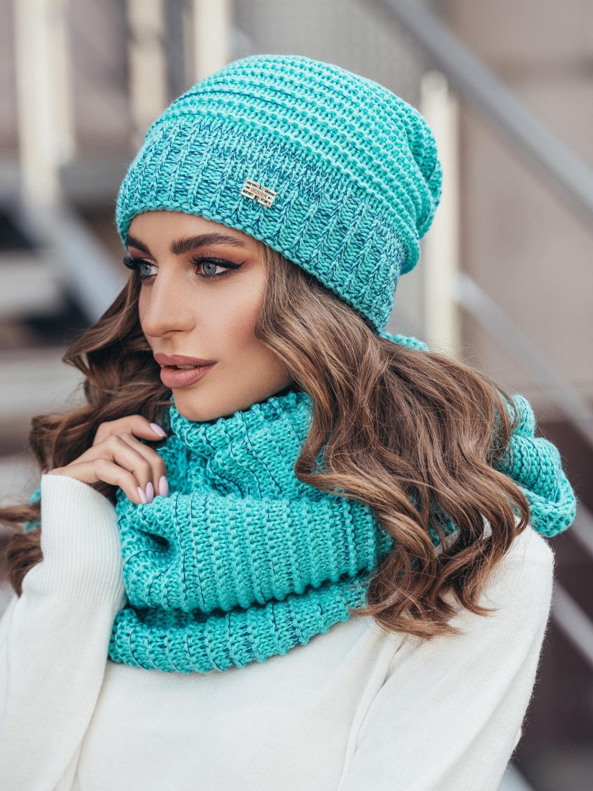 Комплект: шапка и шарф-снуд   5251668