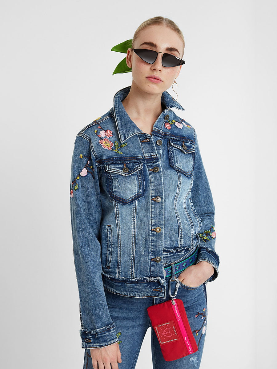 Куртка джинсова синя   5251896