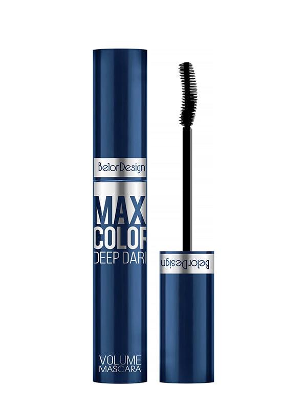 Туш для вій «Maxi Color» об'ємна синя | 5246638