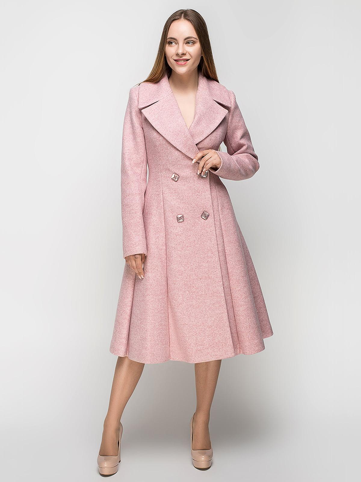 Пальто розовое | 5252137
