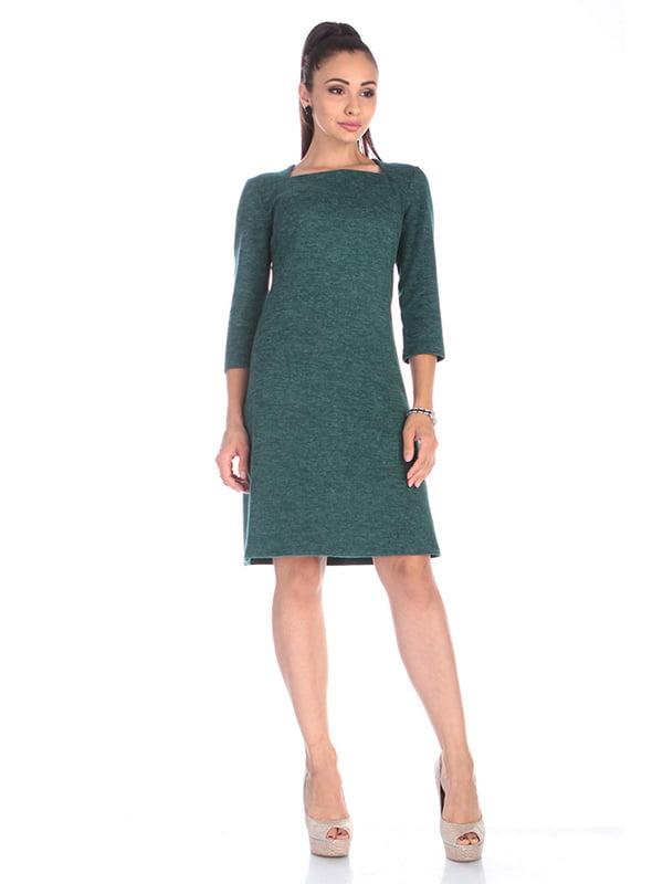 Сукня темно-смарагдового кольору   5252242