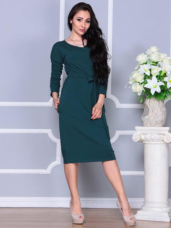 Платье темно-бирюзового цвета | 5252247