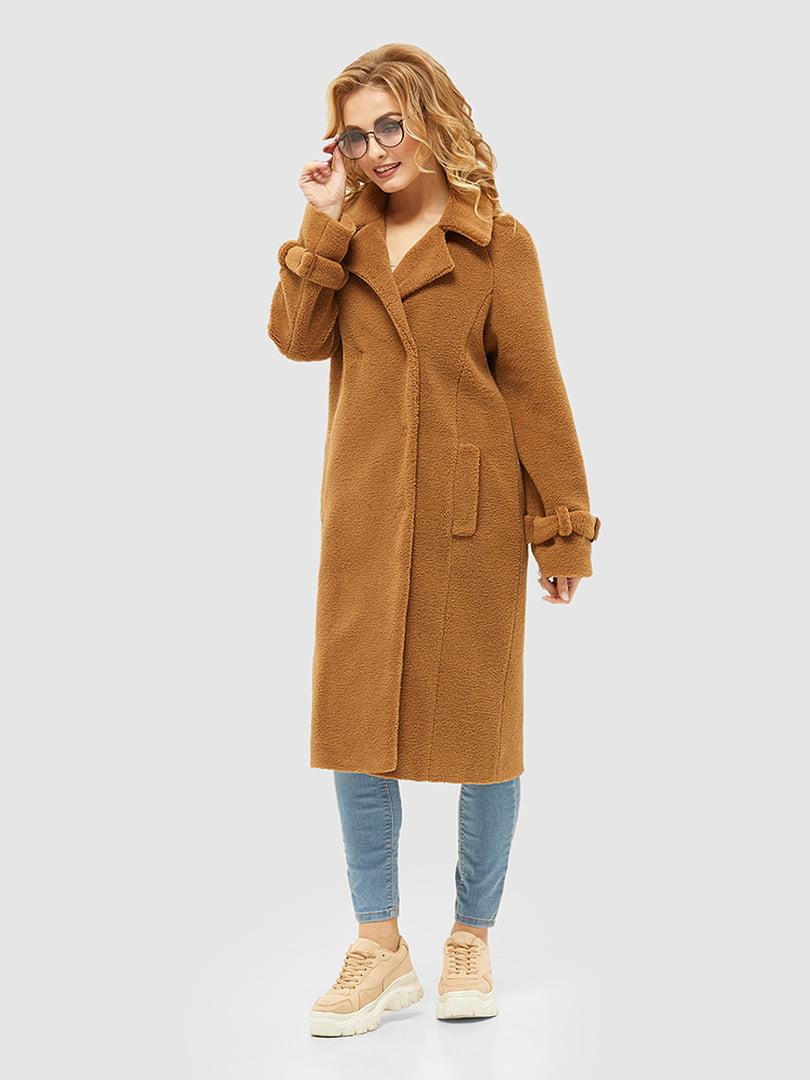 Пальто коричневе   5252561
