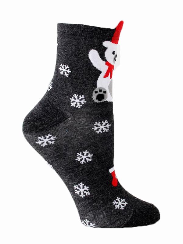 Шкарпетки темно-сірі   5252701