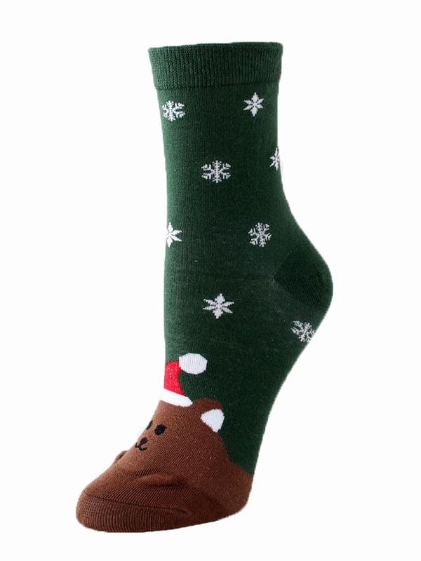 Шкарпетки зелені   5252702