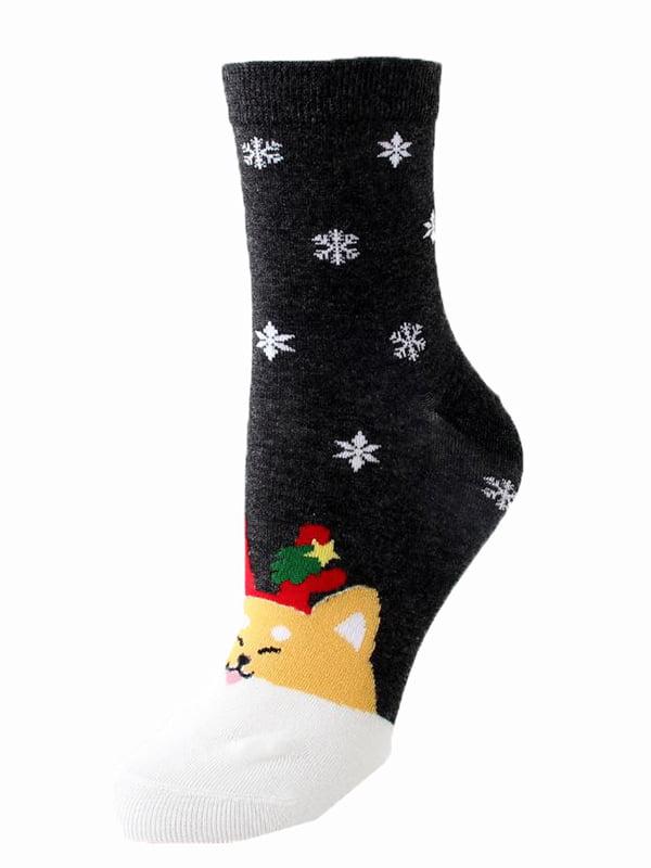Шкарпетки темно-сірі | 5252705