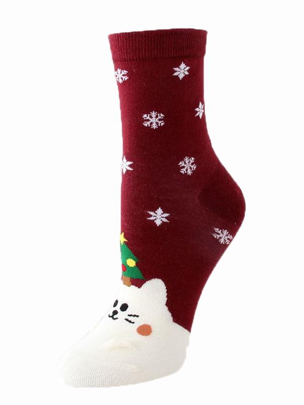 Шкарпетки червоні | 5252706