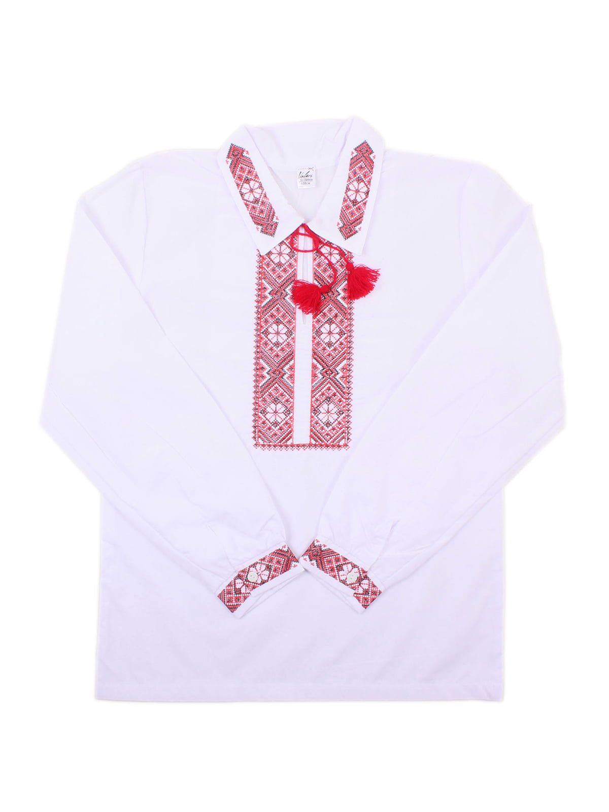 Рубашка-вышиванка белая | 5248347