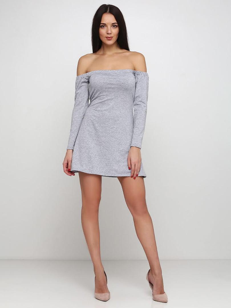 Платье серое | 5253174