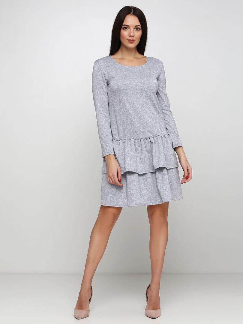 Платье серое | 5253191