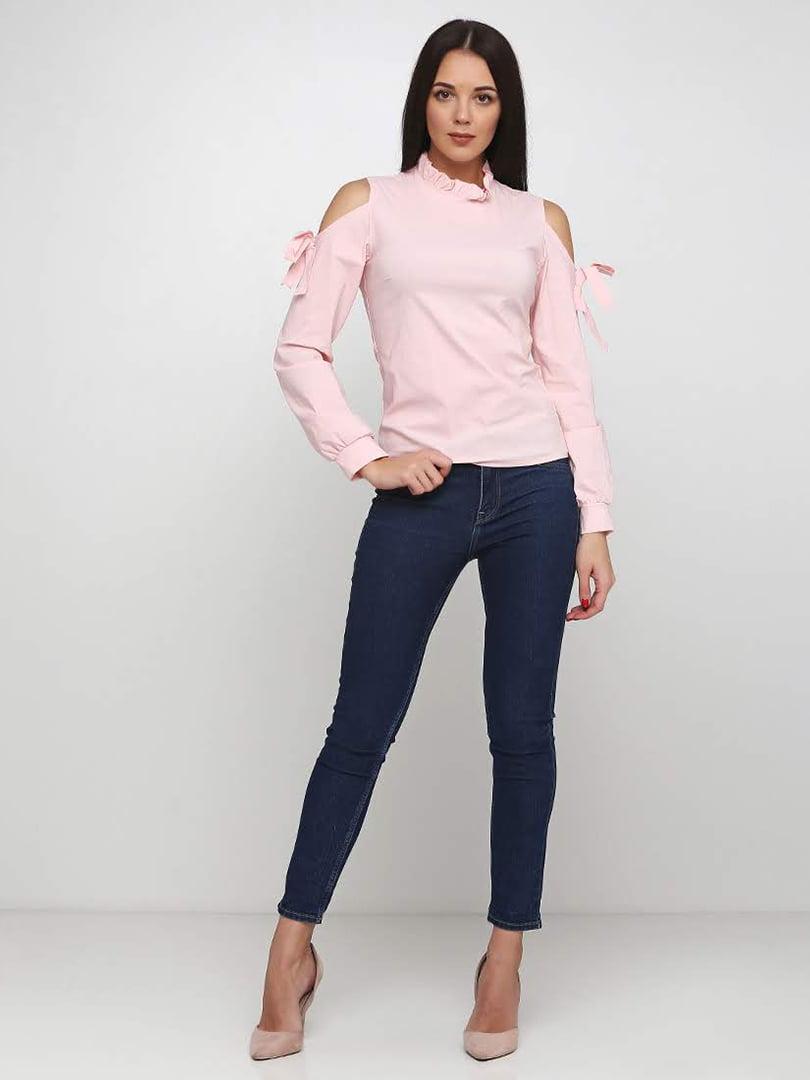 Блуза розовая   5253194
