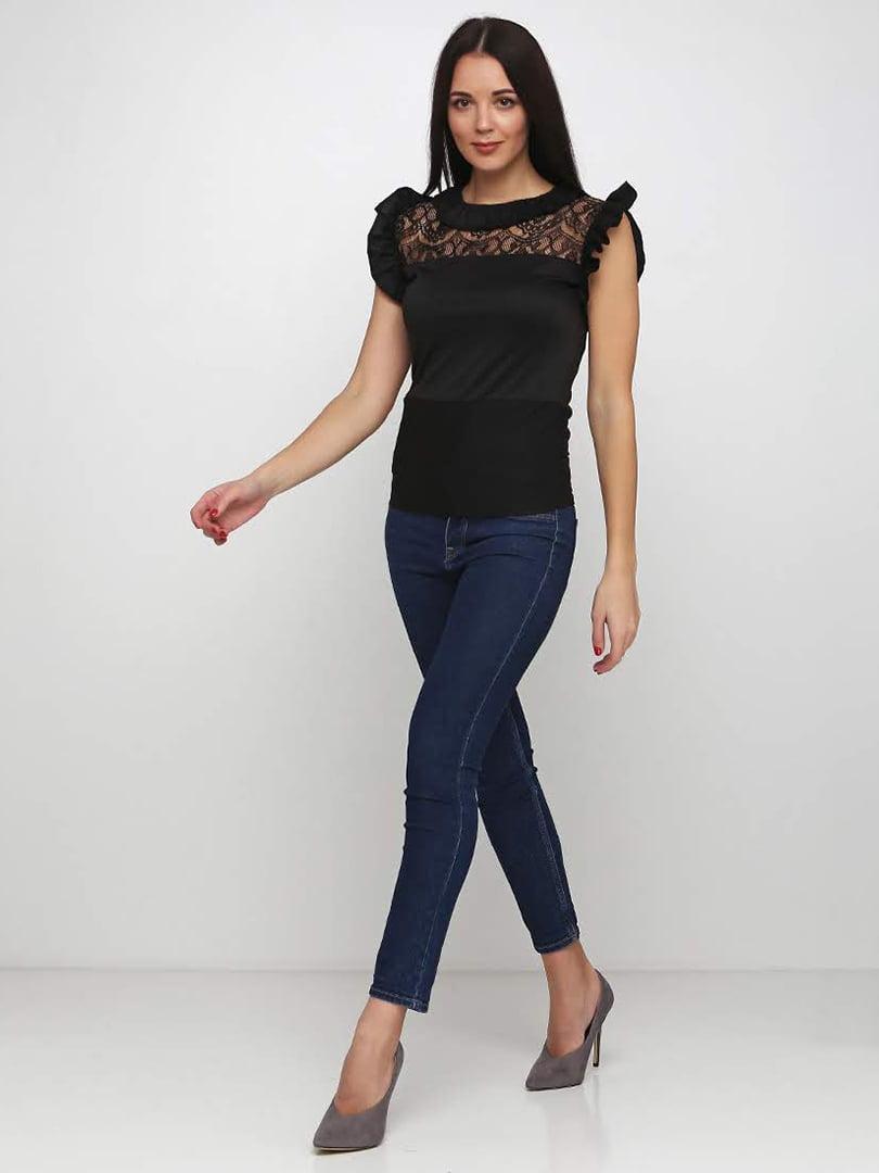 Блуза черная   5253198
