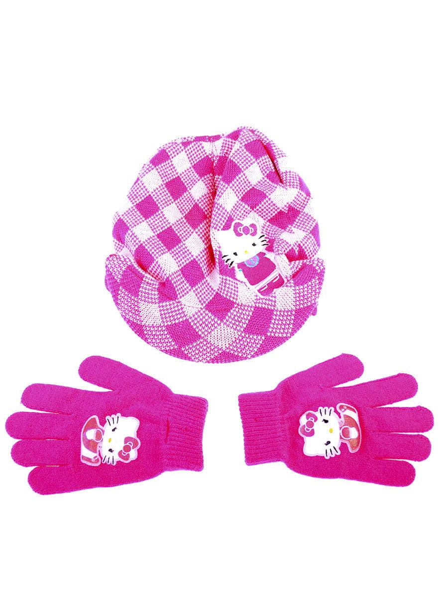 Комплект: шапка и перчатки | 5253834