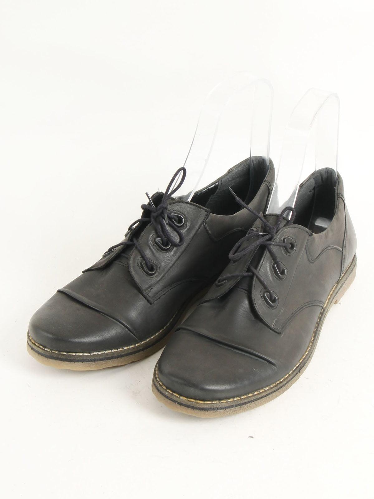 Ботинки цвета хаки | 5253502
