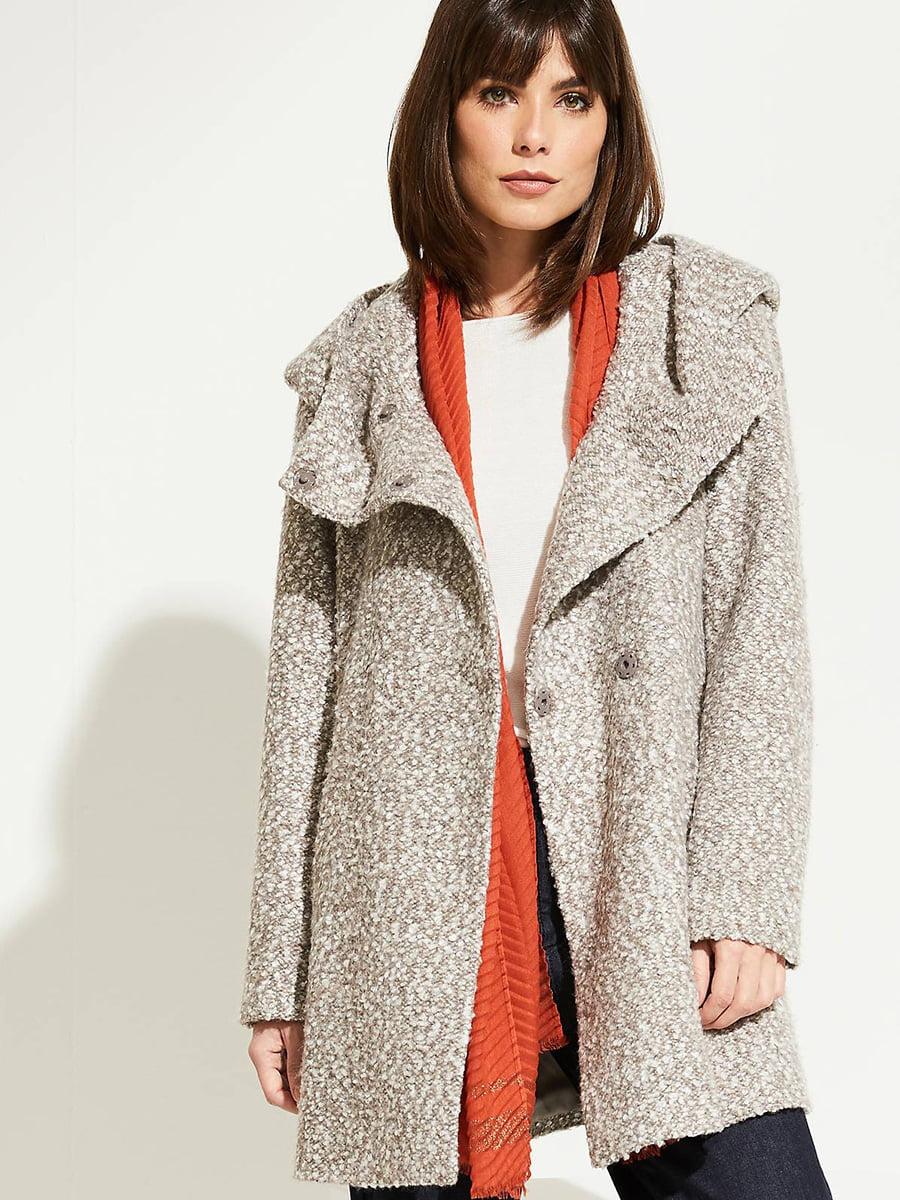 Пальто серое | 5254200