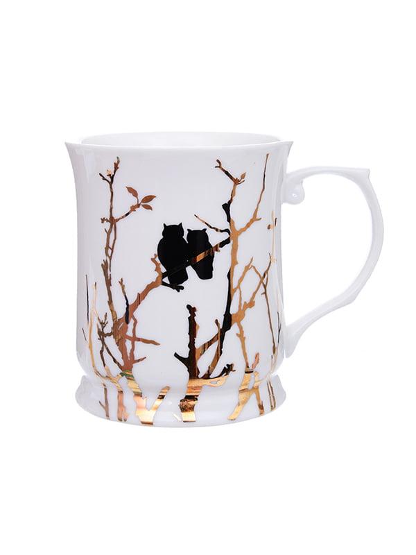 Чашка «Золоті совушки» (400 мл)   5254515