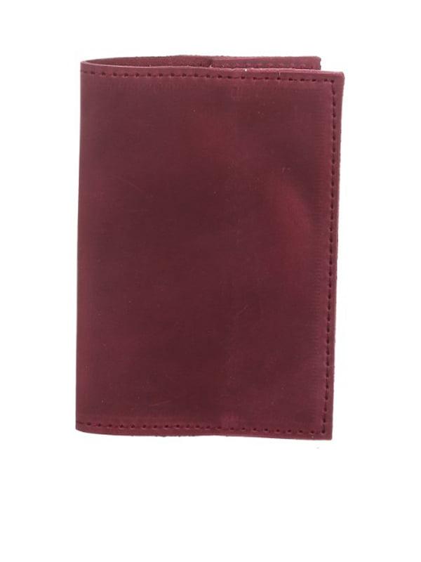 Обложка на паспорт бордовая   5254794