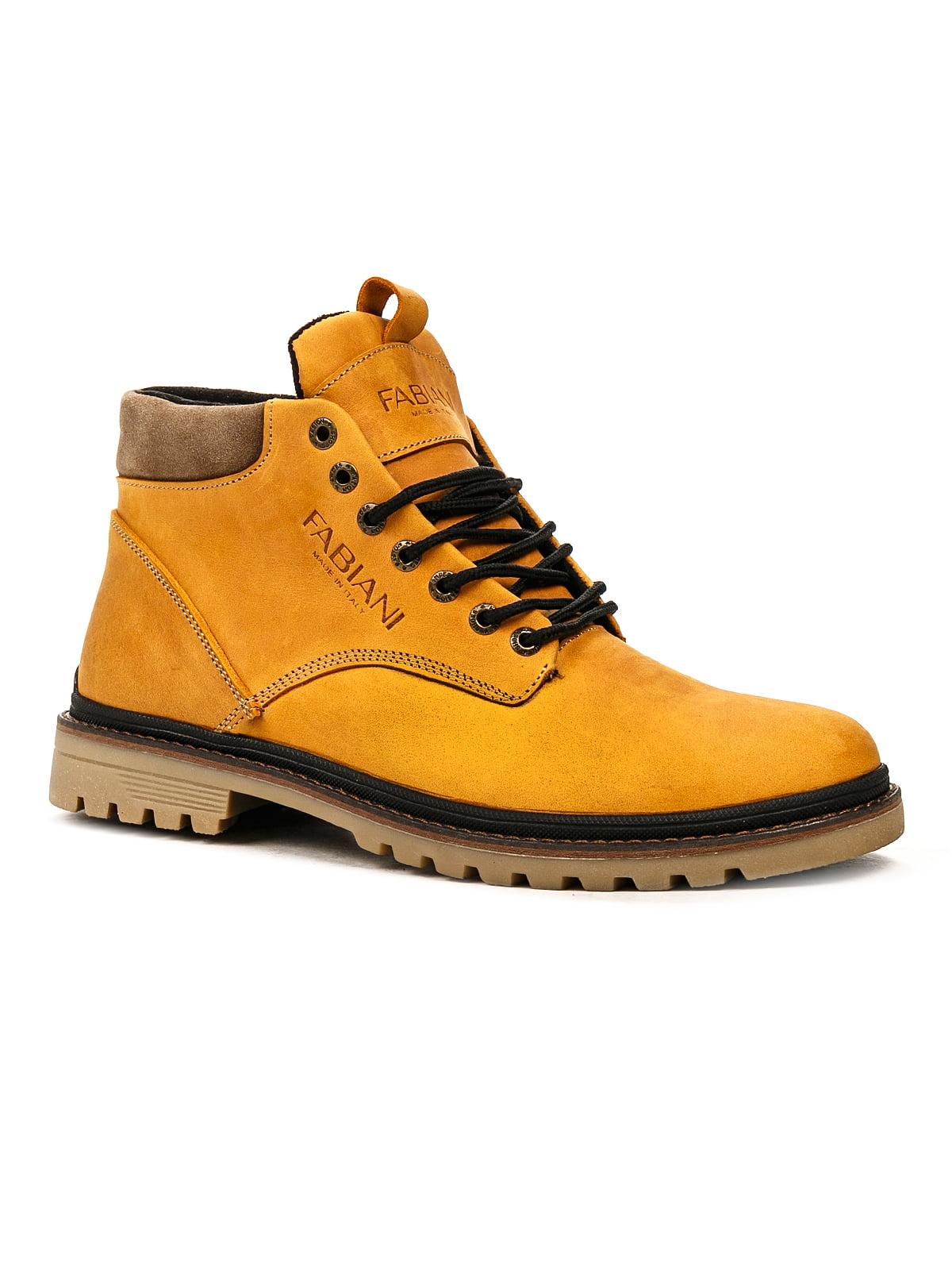 Ботинки желтые | 5243740