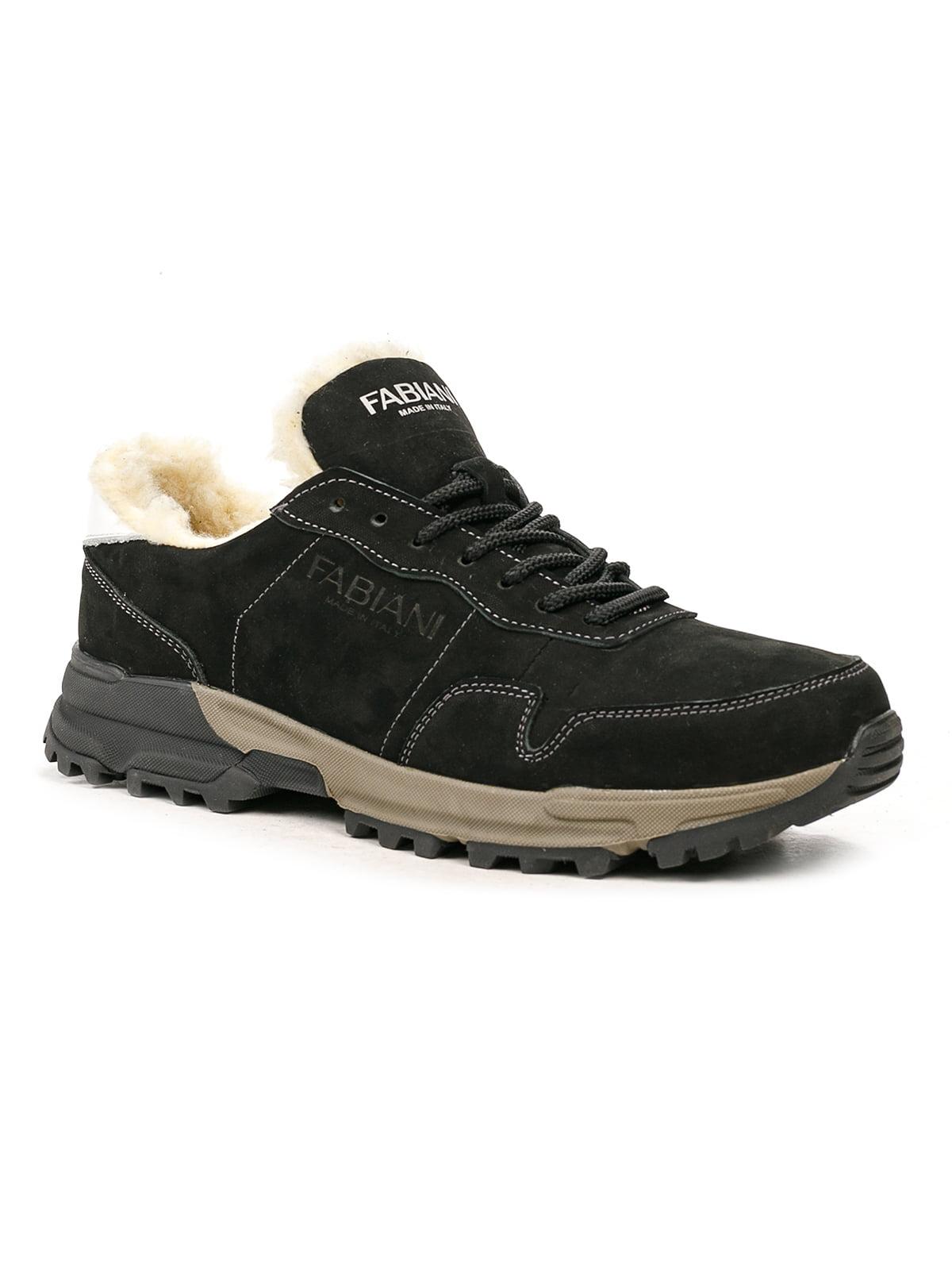 Кроссовки черно-белые | 5243761