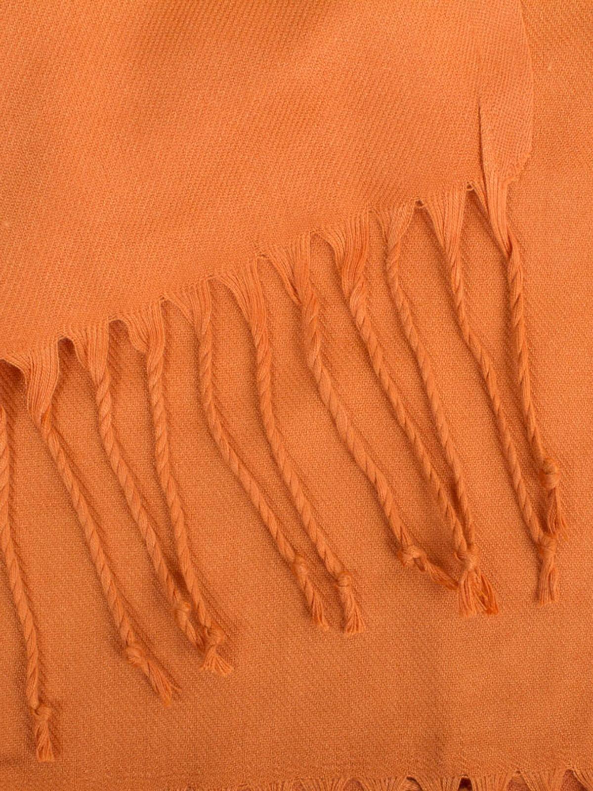 Палантин золотисто-помаранчевий | 5255228