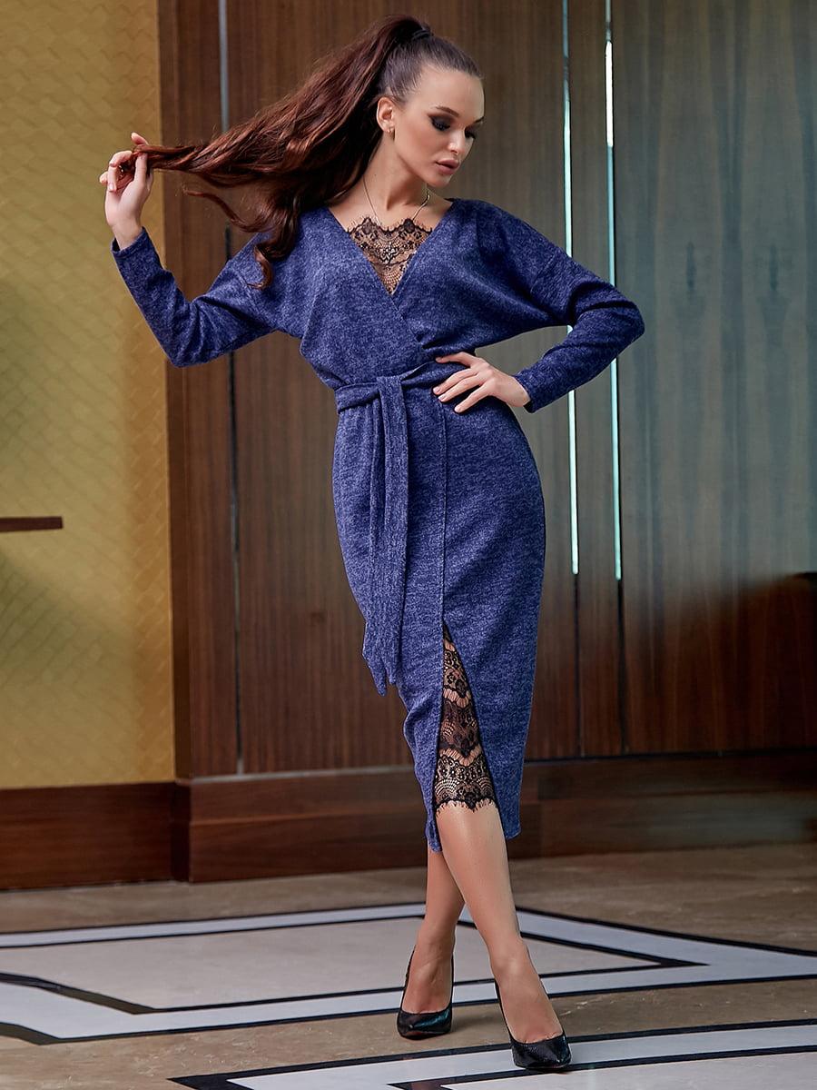 Платье синее | 5255513