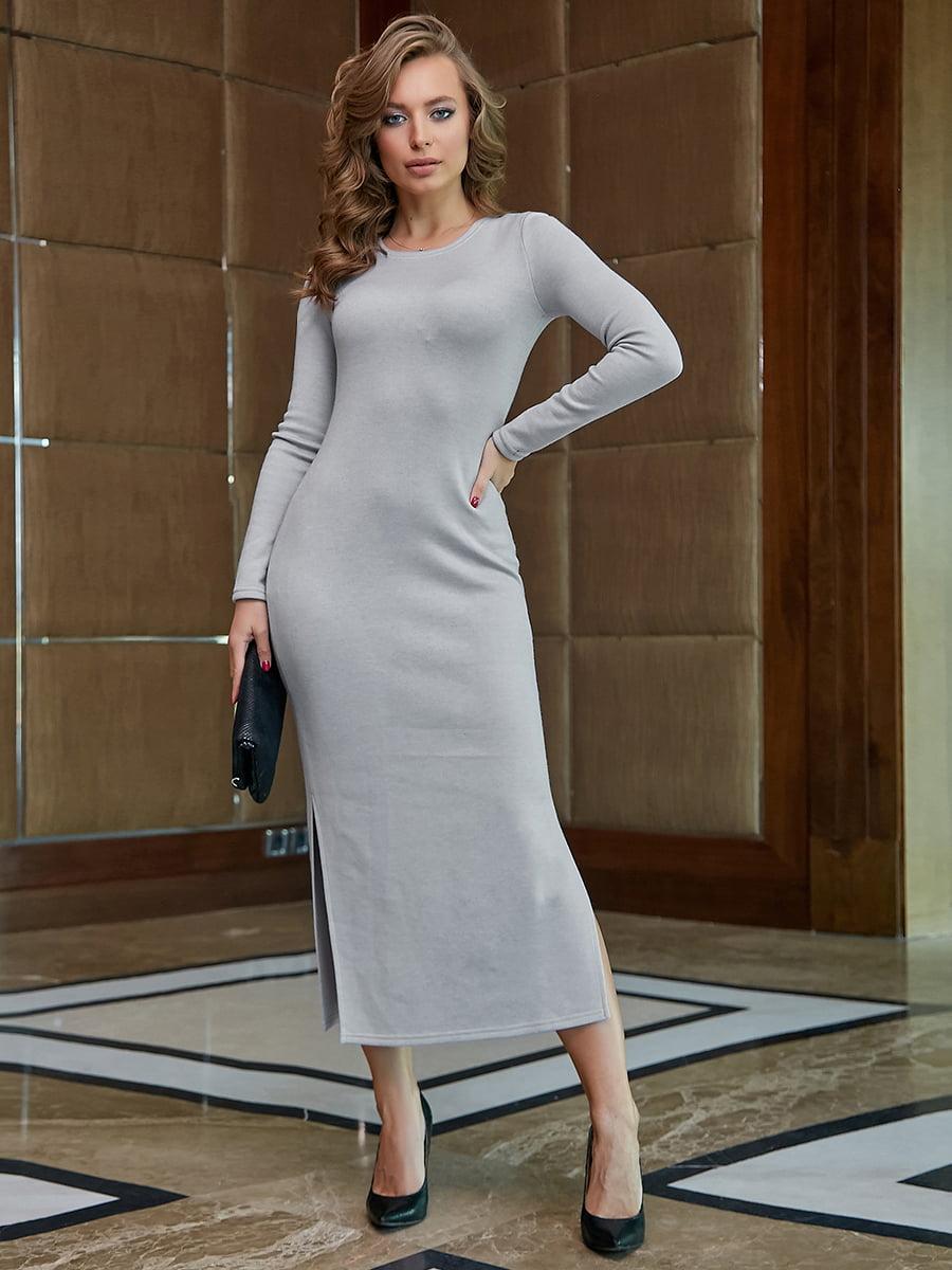 Платье серое | 5255522
