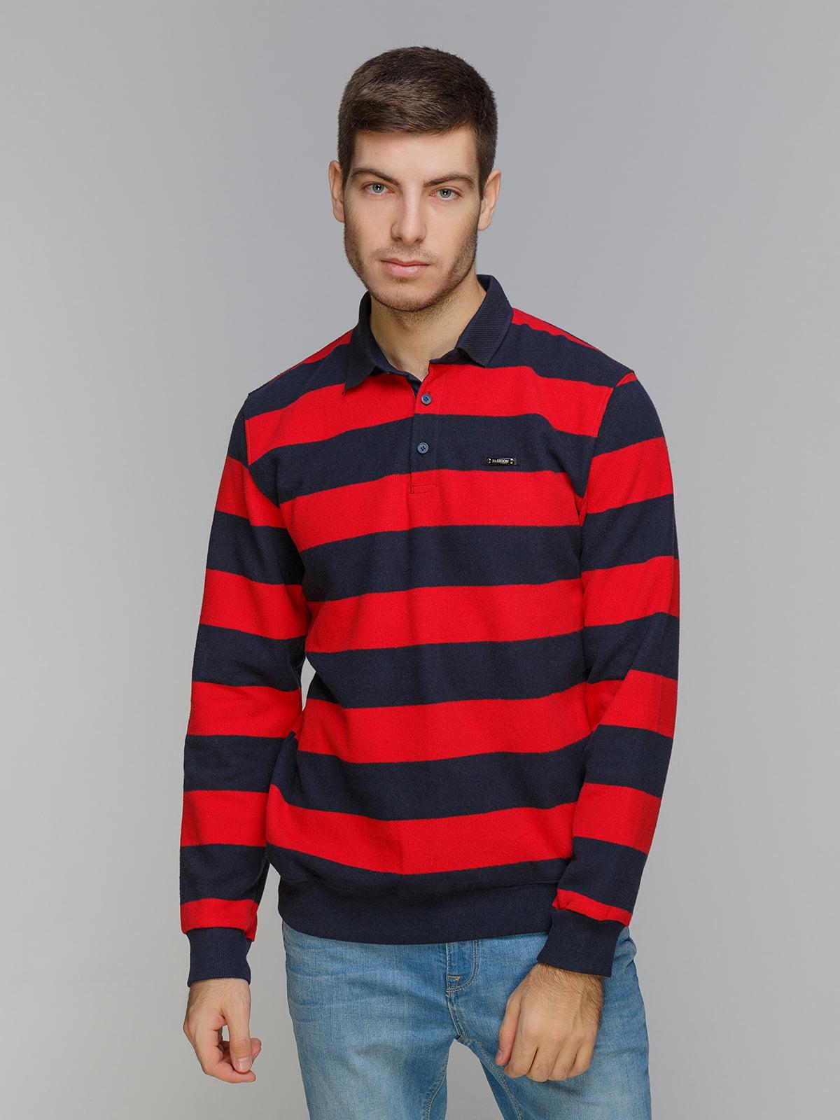Джемпер червоно-синій   5241037