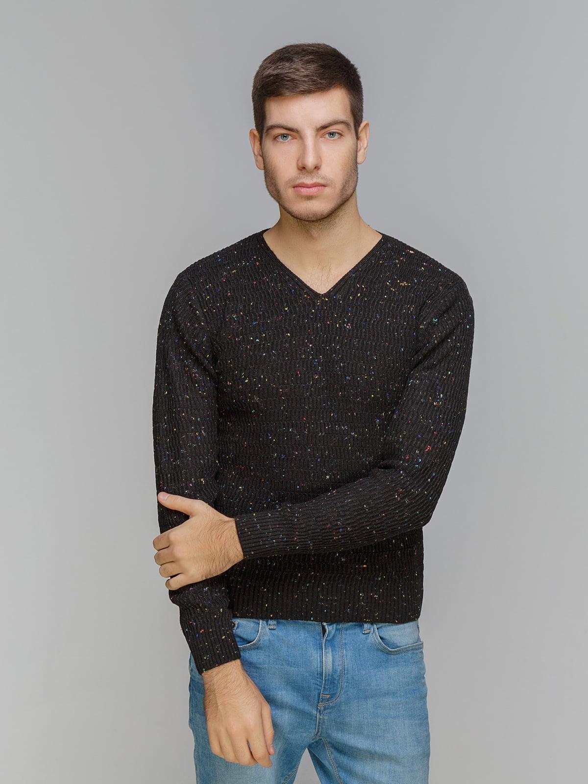 Пуловер чорний | 5241064
