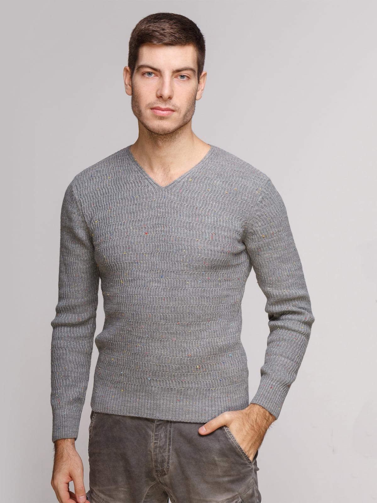 Пуловер сірий | 5241065